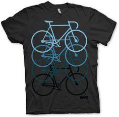 """NYC pushing track bike"" tee"