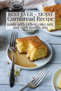 Low Carb Recipes To The Prism Weight Reduction Program The Best Homemade Cornbread You Will Ever Have This Is A Super Moist Cornbread Recipe That Is Made With A Yellow Cake Mix And Corn Muffin Mix. It Is An Easy Recipe That Everyone Will Love Moist Cornbread, Homemade Cornbread, Sweet Cornbread, Cornbread Recipes, Jiffy Cornbread, Corn Muffin Mix, Corn Muffins, Red Pepper Sauce, Yellow Cake Mixes