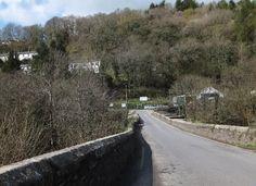 New Bridge, Gunnislake, over River Tamar 2012 near to Gunnislake, Cornwall, Great Britain