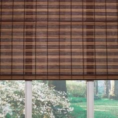 Custom Size Now by Levolor�48-in W x 60-in L Fruitwood Light Filtering Natural Roman Shade