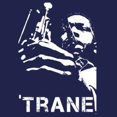 John Coltrane T-shirt jazz saxophone T-shirt