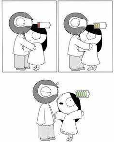 Tagged with catana comics; Shared by Catana comics Cute Couple Comics, Couples Comics, Couple Cartoon, Funny Couples, Bd Cool, Catana Chetwynd, Catana Comics, Image Positive, Dating Humor