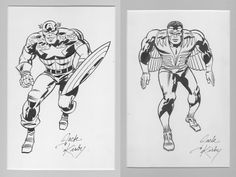 Captain America Corner box from #196 - #244  Jack Kirby - Cap and Falcon Comic…