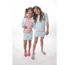 Dress like Flo sweat blazer Sunshine aqua Kids Department = Dé webshop met hippe kinderkleding & accessoires voor baby's en kinderen van 0 t...