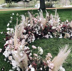 Ceremony Backdrop, Ceremony Decorations, Wedding Ceremony, Whimsical Wedding, Floral Wedding, Wedding Flowers, Blossom Flower, Summer Wedding, Flower Arrangements