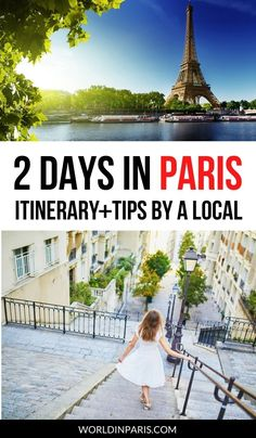 How to see Paris in 2 days: top things to do for 2 days in Paris! Here's the best 2-day itinerary for Paris combining sightseeing, good food, and fun activities. #paris #france #paristravel #parisitineraries