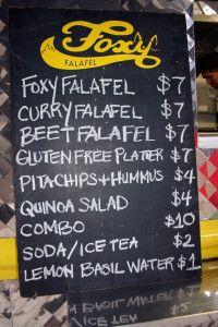 Curiocity: Friday Food Truck Feature    Foxy Falafel