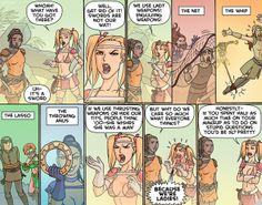 The real reason that women in fantasy art wear such skimpy armor