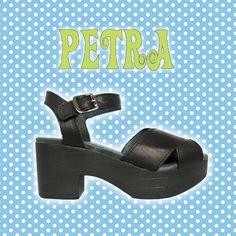 Sandałki duńskiej firmy ShoeBiz Copenhagen. Czarna skóra, ultra lekkie. Ten model tylko w rozmiarze 40.