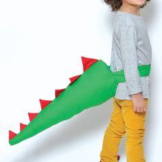 Trop marrant cette queue de dinosaure !