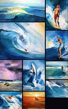 Vincenzo Ganadu http://www.surfartganadu.com/