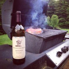 Cabernet and steaks on the grill: one of life's better combinations.