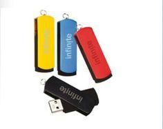 Deslizable Memoria USB. BC31049 (2GB), BC31050 (4GB), BC31051 (8GB), BC31052 (16GB). Ponle tu marca!