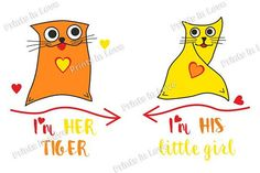 Digital print Cats in Love for couple mugs Digital print Cats in Love for couple mugs    Prints templates for mugs, shirts. Design for couple, lovers/ Digital graphic