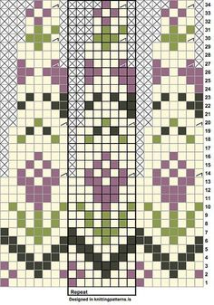 "Ravelry: ""Rósa"" Lopapeysa (Icelandic lopi wool Fair Isle sweater) pattern by Sarah Dearne Fair Isle Knitting Patterns, Fair Isle Pattern, Knitting Charts, Knitting Stitches, Knitting Designs, Knit Patterns, Baby Knitting, Stitch Patterns, Fair Isle Pullover"