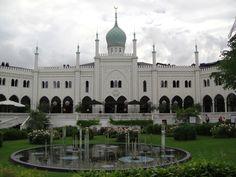 mosque in Tivoli in Copenhagen, Denmark