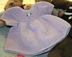 Baby crochet dress crochetyknitsnbits High by crochetyknitsnbits, £16.99