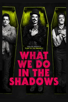 What We Do In the Shadows- Jemaine Clement, Taika Waititi,