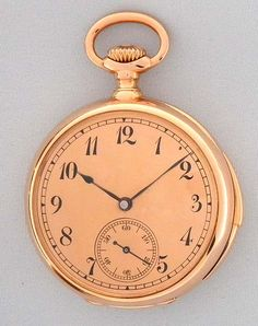 Patek Philippe Minute Repeater  antique pocket watch circa 1880.