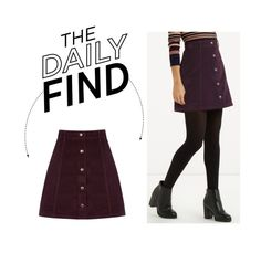 """""""The Daily Find: Oasis Mini Skirt"""" by polyvore-editorial ❤ liked on Polyvore featuring Oasis, women's clothing, women's fashion, women, female, woman, misses, juniors and DailyFind"""