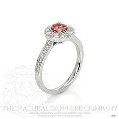 0.38ct Padparadscha Sapphire Ring Image