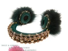 65cab605334 Dolce and Gabbana Accessories Fall 2015 - Ikifashion Crown Headphones