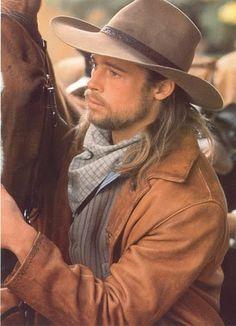 Young Brad Pitt Beard