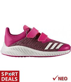 ADIDAS FORTARUN CF K ΚΟΡΙΤΣΙΣΤΙΚΟ ΑΘΛΗΤΙΚΟ ΠΑΠΟΥΤΣΙ ΦΟΥΞΙΑ Adidas Sneakers, Baby Shoes, Kids, Clothes, Fashion, Young Children, Outfits, Moda, Boys