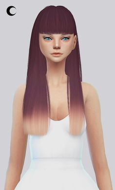 Kalewa-a: Poison hairstyle retextured • Sims 4 Downloads