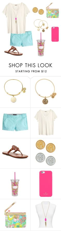 """""""Sandal Contest!!!"""" by apemb ❤ liked on Polyvore featuring Alex and Ani, J.Crew, H&M, Tory Burch, Moon and Lola, Lilly Pulitzer, Kate Spade, Kendra Scott and sandalcontest"""
