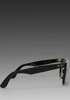 08d56e653a959 RAY-BAN Outsider Oversized Wayfarer in Black - Sunglasses   Eyewear
