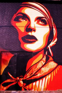 Shepard Fairey mural in Oak Cliff Photo Recreation, Lone Star State, Dallas Texas, Cliff, Painting, Art, Art Background, Painting Art, Kunst