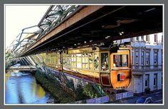 Schwebebahn Kaiserwagen in Wuppertal | Flickr - Photo Sharing!