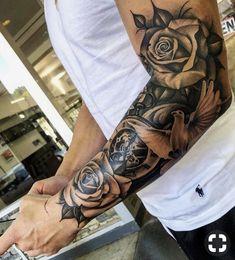 Tätowierungshülse Hülse Tattoo bilder tattoo old school tattoo arm tattoo tattoo tattoos tattoo antebrazo arm sleeve tattoo Hand Tattoos, Forarm Tattoos, Forearm Sleeve Tattoos, Best Sleeve Tattoos, Tattoo Sleeve Designs, Tribal Tattoos, Sleeve Tattoo Men, Forearm Tattoos For Guys, Clock Tattoo Sleeve