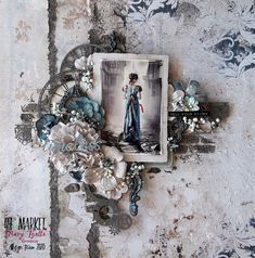 Art Designs by Mary: ''Timeless'' - DT layout for 49 and Market January Inspiration Part 2 Scrapbook Blog, Scrapbook Layouts, Mixed Media Scrapbooking, Hello Dear, Silent Night, Layout Inspiration, Scrapbooks, Glass Beads, My Photos