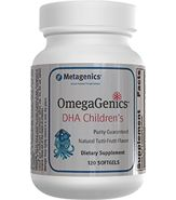 "Metagenics children's fish oil supplement. Yummy tutti-fruity flavor. My kids BEG for their ""medicine""."