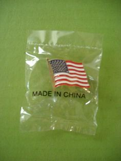 Made in China - there's something just wrong about this.