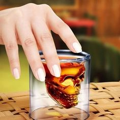 Amazon.com: Crystal Skull Pirate Shot Glass Drink Cocktail Beer Cup: Kitchen & Dining