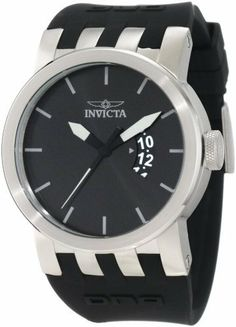 Invicta Men's 10404 DNA Urban Black Sunray Dial Black Silicone Watch Invicta, http://www.amazon.com/dp/B007HN6TKI/ref=cm_sw_r_pi_dp_i3ksrb1Z0TMSZ