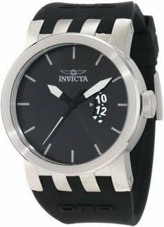 Invicta Men's 10404 DNA Urban Black Sunray Dial Black Silicone Watch Invicta, http://www.amazon.com/dp/B007HN6TKI/ref=cm_sw_r_pi_dp_i3ksrb1Z0TMSZ