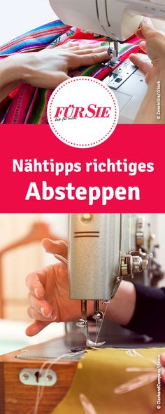 Nähtipps richtiges Absteppen - nähen lernen für Anfänger You are in the right place about Knitting diy Here we offer you the most beautiful pictures about the Knitting toys you are looking for. Beginner Knitting Projects, Easy Sewing Projects, Sewing Projects For Beginners, Easy Knitting, Knitting For Beginners, Sewing Hacks, Sewing Tutorials, Sewing Tips, Tutorial Sewing