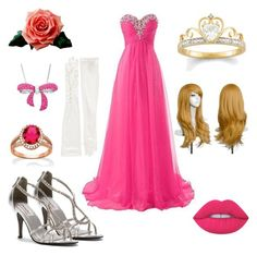 """""""Sleeping Beauty"""" by jessica70-33 on Polyvore featuring Mode, Grace Lee Designs, Dyeables, Palm Beach Jewelry, Carolina Amato, Amanda Rose Collection und Lime Crime"""