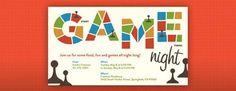 Board Game Night Invitation
