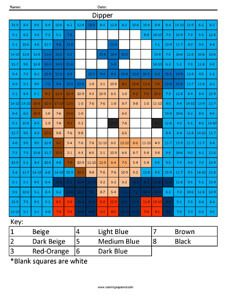 Click on the image to view the PDF. Print the PDF to use the worksheet. Dipper Pines- Gravity Falls Subtraction Solve the simple subtraction problems and use the key at the bottom of this page for …