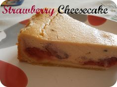 From Veggie to Vegan: Strawberry Cheesecake - vegan