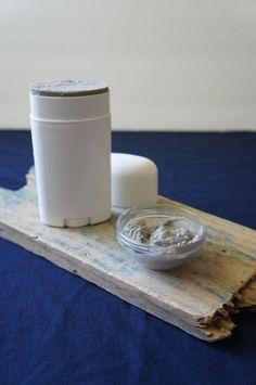 DIY Coconut + Clay Deodorant Recipe