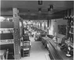 Vismarkt nummer 50 Restaurant 'Bij Koos Kerstholt' 1968 - Foto's SERC