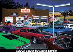 36 Best Dave Snyder Art Images Vintage Cars Antique Cars Retro Cars