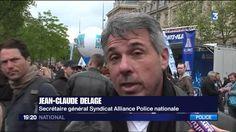 Policiers attaqués à Paris pendant les manifestations