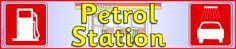 Petrol Station role-play pack (SB5527) - SparkleBox